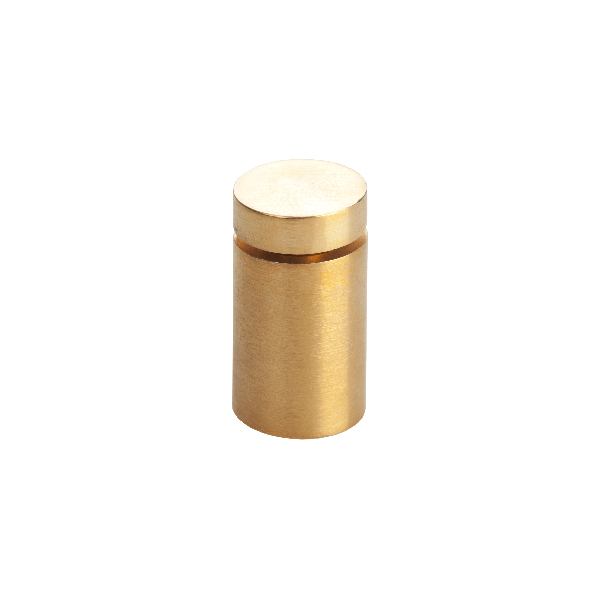 "CN1319SG | 1/2"" x 3/4"" Classic Style Standoff in Satin Gold"